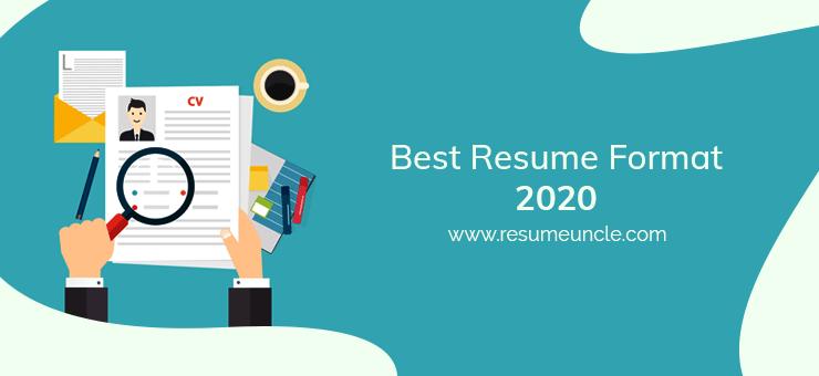 best resume format 2020