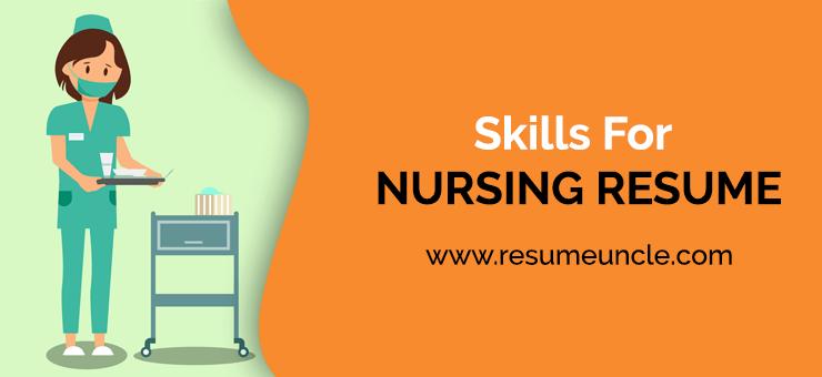 skills for nursing resume