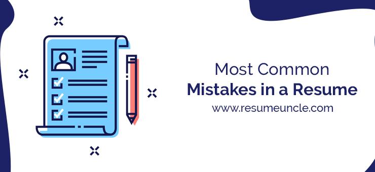 resume common mistakes