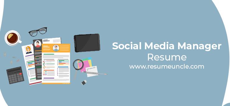 social media manager resume
